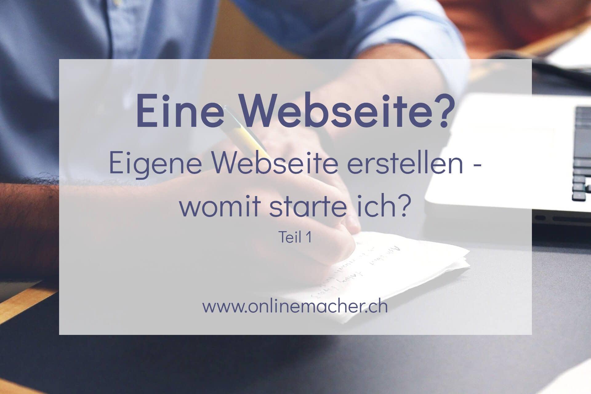 eigene-webseite-erstellen